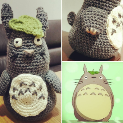 Freehand crochet - no pattern, just the image from a google search to work from